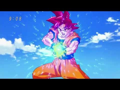 Dragon Ball Super Goku SSG Vs Beerus Kame Hame Haaa (1080p)HD