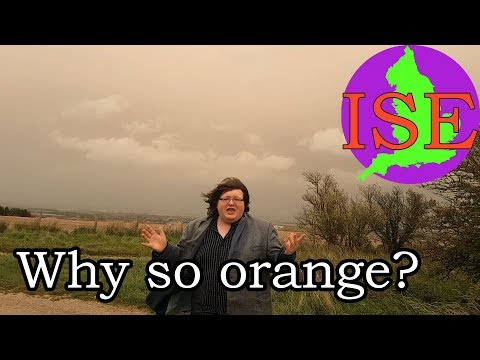 Why is England's sky so orange? In Search of England Quickie