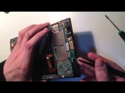 Разборка Lenovo S8-50F disassembly
