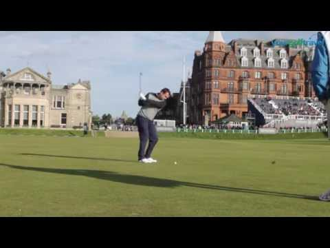 Your Golf Travel playing in the Alfred Dunhill Links Pro Am at St Andrews with Darren Clarke