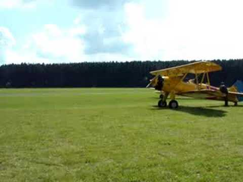 B25, Stearman, A6 Texan at Flugtag Breitscheid Germany