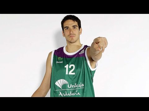 Focus on Carlos Suarez, Unicaja Malaga