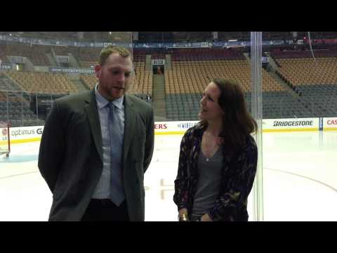 Kate Asks: Kyle talks about giving back through the MLSE Team Up Challenge