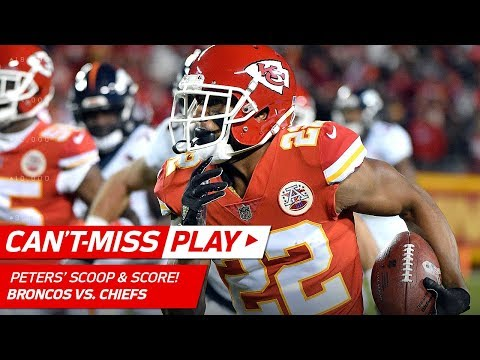 Video: Marcus Peters Scoops & Scores Off Jamaal Charles' Fumble! | Can't-Miss Play | NFL Wk 8 Highlights