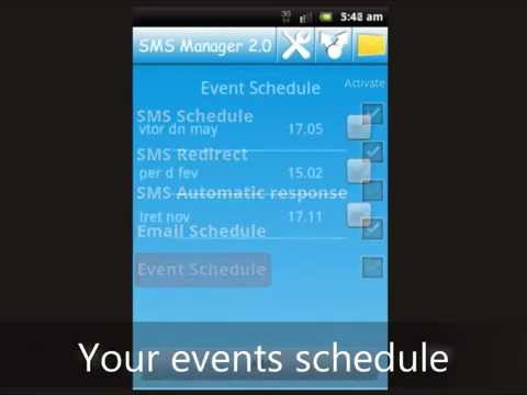 Video of SMS Manager 2.0