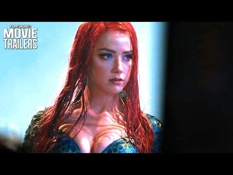 AQUAMAN (2018) Behind The Scenes of Jason Momoa DC Movie