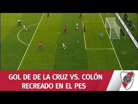 ¡Centro de Suárez y remate de De La Cruz!