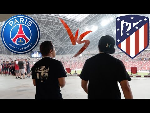 PSG Vs Atletico Madrid Live In Singapore