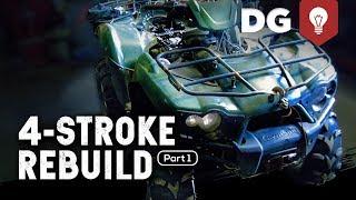 9. 4-STROKE REBUILD: Kawasaki Brute Force (Part 1)