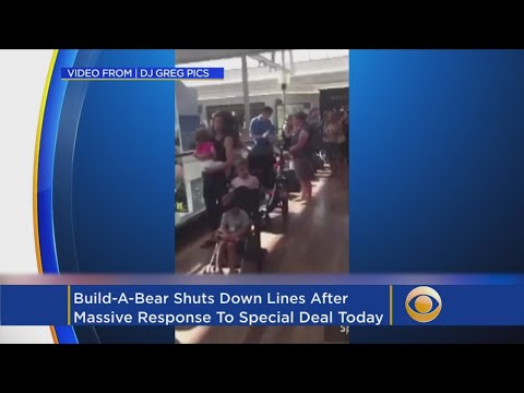 Build-A-Bear's 'Pay Your Age Day' Draws Such Huge Crowds, Promotion Is Called Off