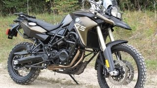 2. 2013 BMW F800gs in depth review & update