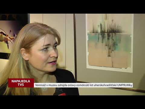 TVS: Napajedla - Vernisáž UMPRUM 80 let