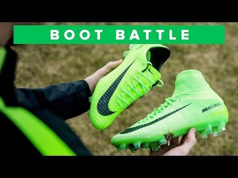 SUPERFLY 5 vs VAPOR 11 | Nike Mercurial Battle