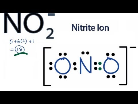 Смотреть онлайн видео NO2- Lewis Structure: How to Draw ... H2co2 Lewis Dot Structure