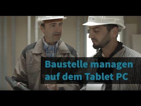 Mit dem Tablet PC auf der Baustelle effizient arbei ...