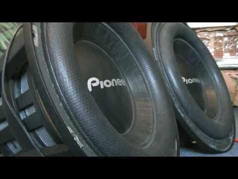 x2 Pioneer TS-W121SPL! Drop it drop it low!