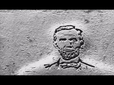 Tiny Technology Carves Lincoln's Face into a Coin