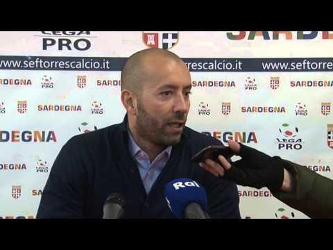 Torres-Arezzo 1-0 / Intervista a Cristian Bucchi