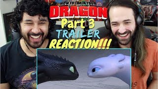 Video HOW TO TRAIN YOUR DRAGON 3: THE HIDDEN WORLD - Official TRAILER REACTION & REVIEW!!! MP3, 3GP, MP4, WEBM, AVI, FLV Juni 2018
