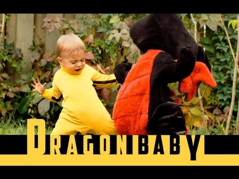Funny Dragon Baby Video