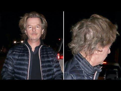 David Spade Is Having A Terrible Hair Day!