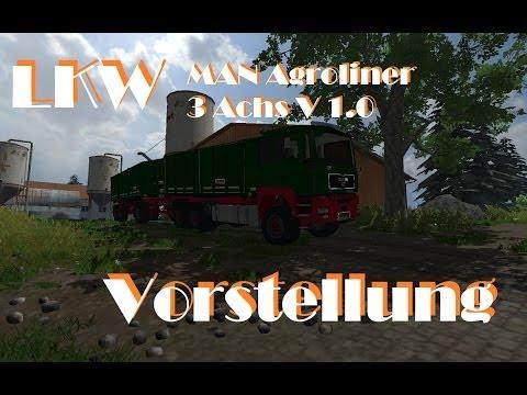 MAN Agroliner 3 axis v2.0 MR