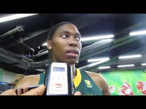 Video: Caster Semenya happy with performance despite exit from 800m