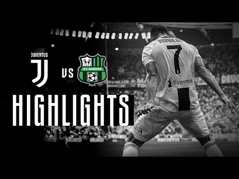 HIGHLIGHTS: Juventus Vs Sassuolo - 2-1 | Cristiano Ronaldo's First Goals!