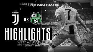 HIGHLIGHTS: Juventus vs Sassuolo - 2-1 | Cristiano Ronaldo's first goals!
