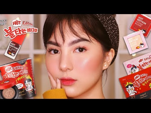 [REVIEW] SAMYANG X TONY MOLY Makeup 🔥🤯(WORTH IT Gak??)