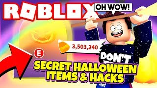 *NEW SECRETS* Adopt Me HALLOWEEN ITEMS and HACKS! NEW Adopt Me Halloween Update 2019 (Roblox)