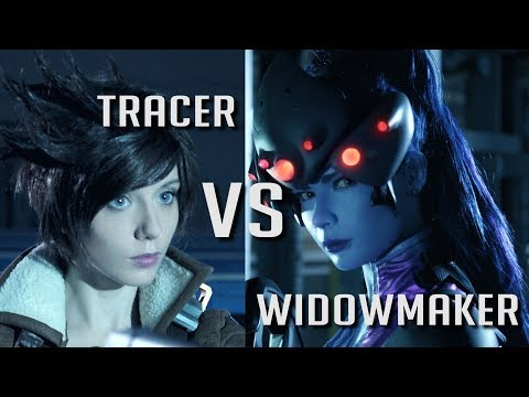Tracer vs Widowmaker - Short Film