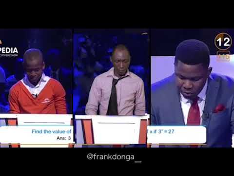 Frank Donga- Maths Quiz