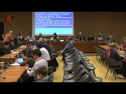 Fake news and possible solutions to access information, discussion led by Young IGF