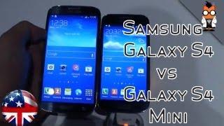 Samsung Galaxy S4 Mini Vs Samsung Galaxy S4