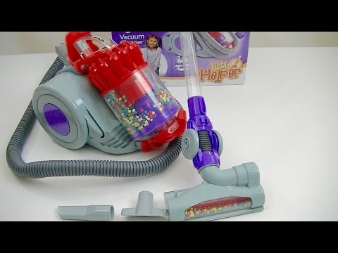 Dyson DC22 Toy Cylinder Vacuum Cleaner By Casdon Review & Demonstration