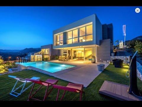 Новая вилла на Коста Бланка! Роскошная современная вилла в урбанизации Сьерра Кортина!