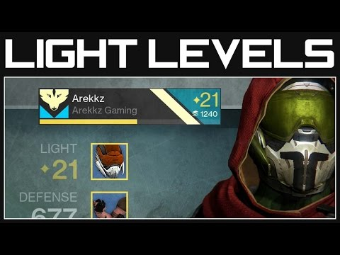 levels - Destiny Light Levels - How Does it Work? Level 20+ | Destiny Gameplay ▻ Subscribe ▻ Like ▻ Comment. Subscribe to our channel for more exclusive gameplay vide...