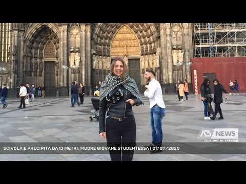 SCIVOLA E PRECIPITA DA 13 METRI: MUORE GIOVANE STUDENTESSA | 01/07/2020