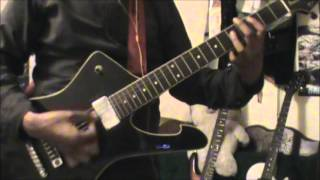 The Ramones - touring (cover guitar) Pop corn tv