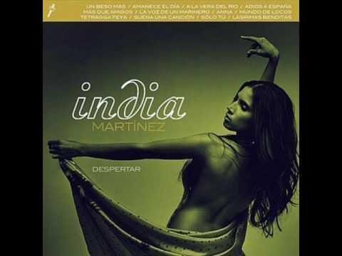 Tekst piosenki India Martínez - Un beso más po polsku