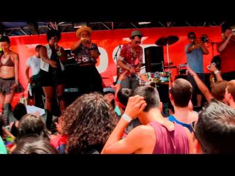 Los Skarnales - FPSF - Houston-#FPSF2014 #Ska # Punk #Latin #Desmadre