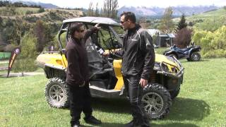 1. Canam commander 1000 XT review
