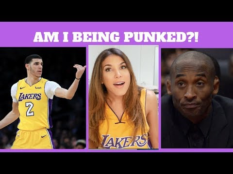 THE LAKERS EMBARRASSED ME IN FRONT OF KOBE BRYANT
