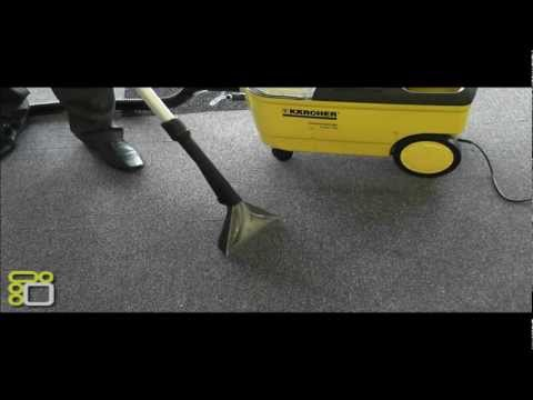 Karcher Carpet Cleaner PUZZI 100 Demonstration