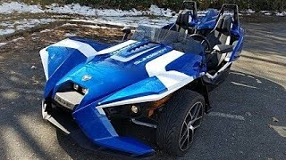 10. 2018 Polaris Slingshot Turbo on the street!
