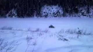 9. Jumps on ski doo skandic suv 600 part2