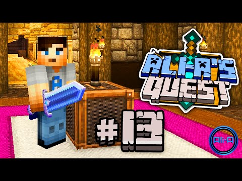 "Minecraft – Ali-A's Quest #13 – ""DUNGEON SECRETS!"""