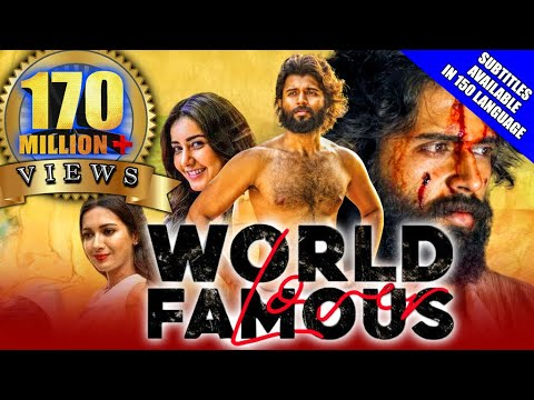World Famous Lover 2021 New Released Hindi Dubbed Movie| Vijay Deverakonda, Raashi Khanna, Catherine