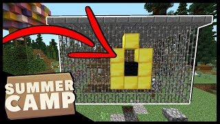 WE'VE BEEN LOCKED OUT OF CAMP!! | Minecraft Summer Camp SMP | #14